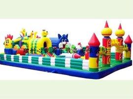 大型充气玩具 蓝猫卡通乐园14-7