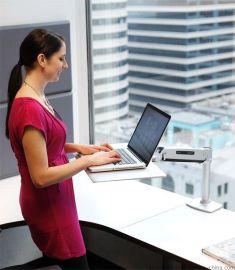 爱格升apple苹果笔记本电脑支架升降站坐两用支架24-408-227