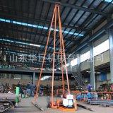 巨匠SH30-2A型砂金礦取樣鑽機 衝擊式取土鑽機 不用水 可打井取沙