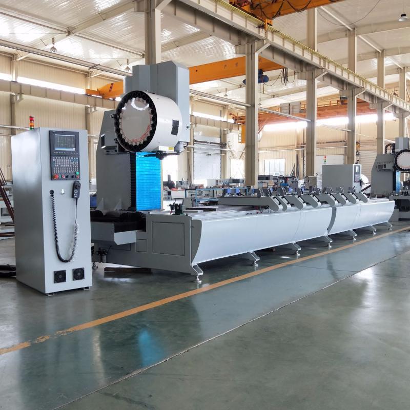 工业铝加工设备铝型材三轴加工中心铝型材数控钻铣设备