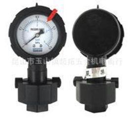 PP隔膜压力表 HFDY压力表 PCB专用塑料压力表 防腐压力表 分体式