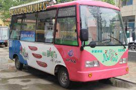 潍州电动中巴餐车