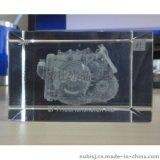 水晶内雕 2D 3D内雕摆件 刻订制尺寸