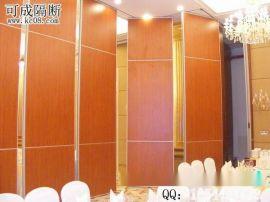 珠海定制酒店实木隔断墙 可折叠推拉85款活动屏风 无地轨隔音墙