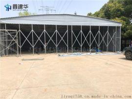 湖州吴兴区电动帐篷伸缩帐篷雨蓬钢结构遮阳棚厂家定制