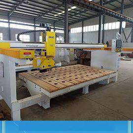 五轴联动石材切割机 数控加工中心 五轴桥切