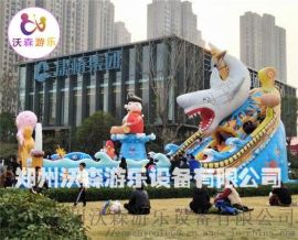 全新充气城堡定做,四川广元充气大滑梯专为儿童设计