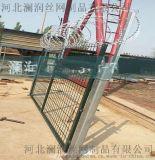 熱鍍鋅刺絲滾籠 防護柵欄刺絲滾籠 高鐵專用刺絲滾籠