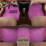 新款水晶丝圈 卷材加厚pvc防滑钉底车毯 4S店通用 全包围汽车脚垫