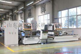 门窗加工设备 数控锯 带锯床 派克机器铝型材双角数控**效切割锯(出口型)