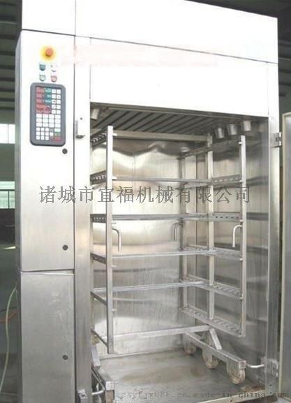 PFT-500烤鴨臘肉掛爐烤爐 豆乾煙燻爐 肉類豆製品加工煙燻爐生產設備