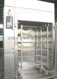 PFT-500烤鸭腊肉挂炉烤炉 豆干烟熏炉 肉类豆制品加工烟熏炉生产设备
