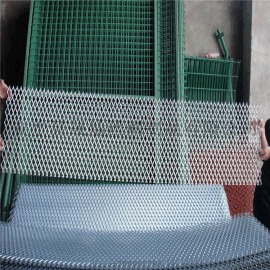 黑色喷塑钢板网/钢板网装饰/拉伸网装饰用/装饰菱形网/江苏钢板网/金属板网