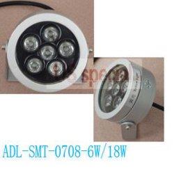 圆形大功率LED投光灯 (6W/18W)