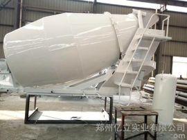 混凝土罐车出料高度,亿立8m3混凝土罐车,混凝土搅拌罐,厂价直销