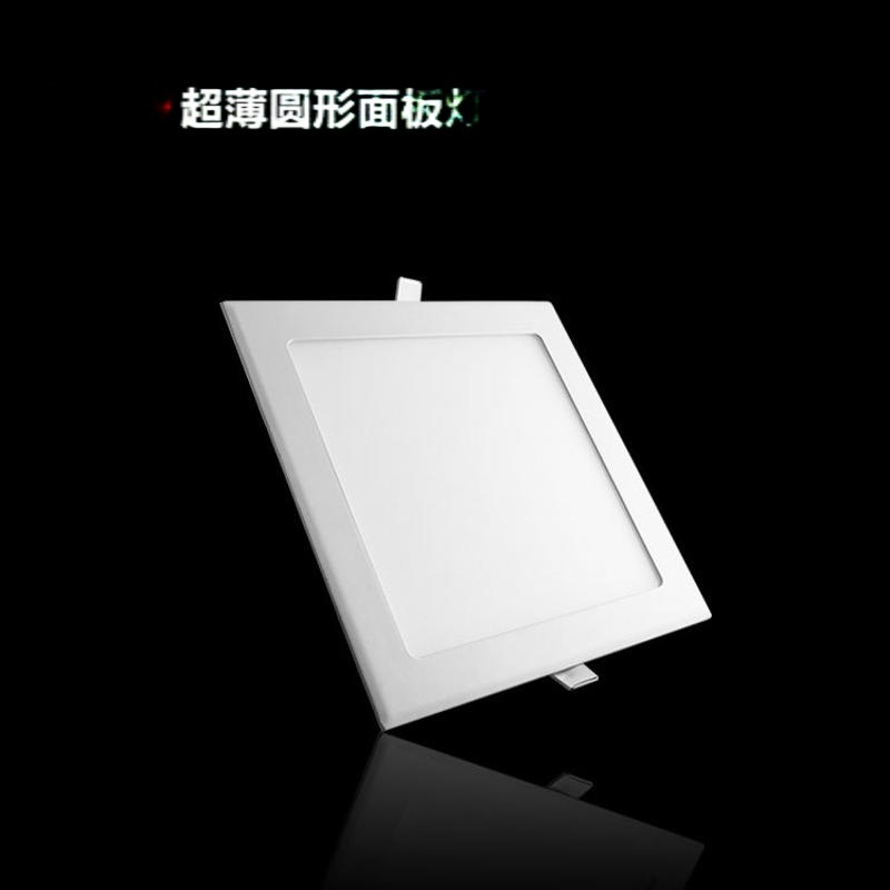 新款工程照明LED面板燈30w 方圓形暗裝LED面板燈廠家直銷AS30A
