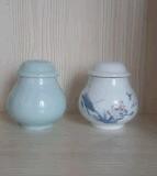 設計開發小陶瓷罐定做加工石斛陶瓷罐海蔘陶瓷罐訂單定製