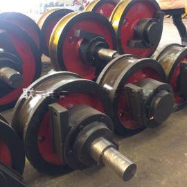 淬火调质车轮组天车轮 非标车轮 φ700/φ600