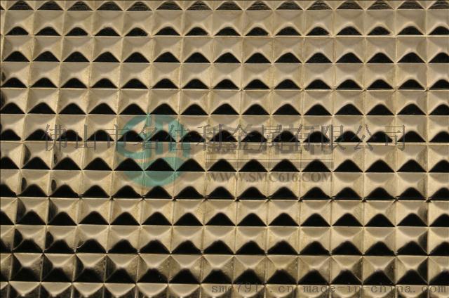 佛山名佳利供应201不锈钢冲花板镜面玫瑰金立方