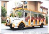 新款十四座电动火车头景区旅游观光车