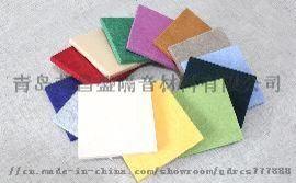 B1级聚酯纤维吸音板彩色吸声板厂家直销