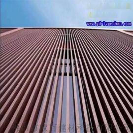 烟台方管铝型材 76x76铝方管 铝合金方管型材规格 外墙木纹铝方通