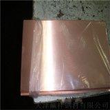 專業生產耐磨優質紫銅板 C1100國標銅板定製