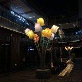 廣場特色景觀燈仿雲石樹狀燈花束燈非標工程燈大型路燈
