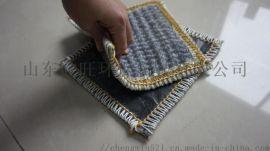 景觀湖膨潤土防水毯環保腈綸覆膜防水毯