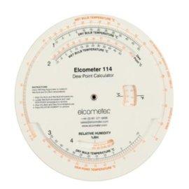 Elcometer 114露点计算器