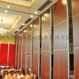 武汉酒店活动隔断墙厂家包厢移动隔墙设计安装量大从优
