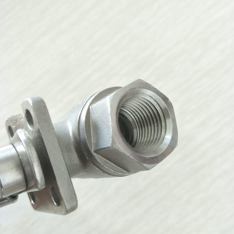 二片式高平台不锈钢球阀 DN15 2PC启动球阀