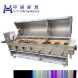 電烤全羊爐 翻轉式烤羊排爐 自動烤全羊爐 全自動烤全羊機