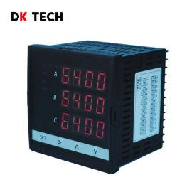 DK6404三相真有效值多功能功率电力仪表