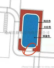 幼儿园透气型塑胶跑道 郑州塑胶跑道 学校塑胶跑道
