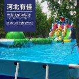 定做充气游泳池成人加厚儿童圆形方形水池沙池户外