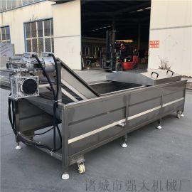 连续式漂烫流水线 大型竹笋漂烫机