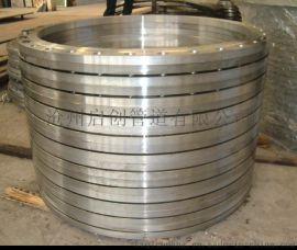 Q235大口径法兰 压力容器平焊法兰来图加工