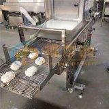 济南{智能}肉排裹糠机技巧 连续肉排裹面包糠设备