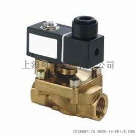 进口黄铜二通高温电磁阀