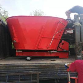 全日粮TMR饲料搅拌机,养牛基地秸秆粉碎拌料机
