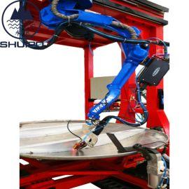 水泊焊接机器人加视跟踪系统焊缝实时跟踪纠偏