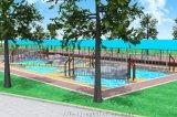 水上拓展訓練水上圓木橋水上平衡木水上樂園鞦韆