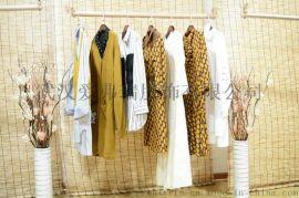 品牌折扣女装走份米祖品牌女装18款连衣裙两件套