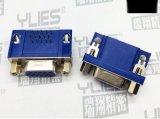 480-D-SUB连接器 母头 双排90度插板式