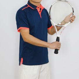 网球服短袖T恤POLO训练服男款运动休闲户外跑步健身翻领短袖