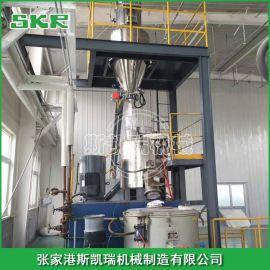 全自动供料混合输送系统 塑料混合机中央供料计量系统