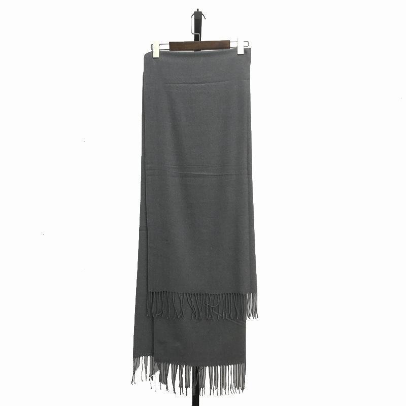 杭州女装品牌折扣2018新款纯色羊绒围巾时尚货源批发渠道