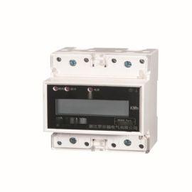 单相多功能导轨式电能表4P30-10015-60A5-20A1.5-6卡规式安装特惠