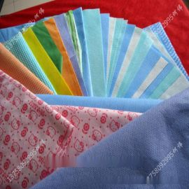 生产厂家产地货源_新价格供应多种花型多规格印花水刺无纺布